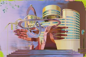 Sunworld Dynasty Hotel Taipei by Cui Jie contemporary artwork