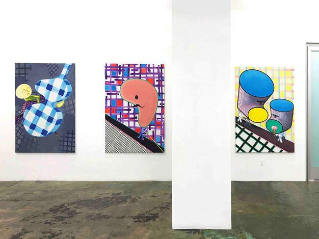 Exhibition view: Marcus Weber, C & A, Thomas Erben Gallery, New York(16 May–22 June 2019). Courtesy Thomas Erben Gallery.