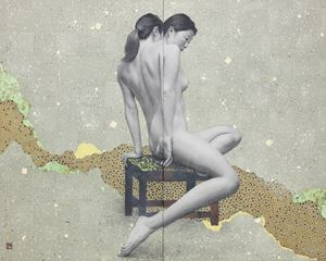 Two Gestures by Kazuyuki Futagawa contemporary artwork