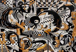 Overlapped Aspects I by Nisky Yu contemporary artwork