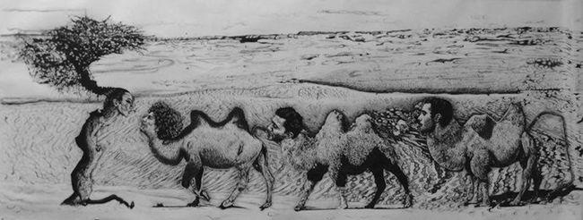 Silk Road by Katya Kan contemporary artwork
