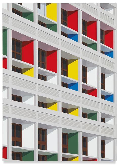Unité d'Habitation, Marseille by Daniel Rich contemporary artwork