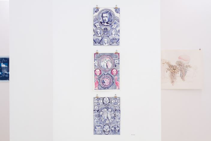 Exhibition view: Paper Matters, Susan Boutwell Gallery, Munich (21 July–1 August 2020). Courtesy Susan Boutwell Gallery.