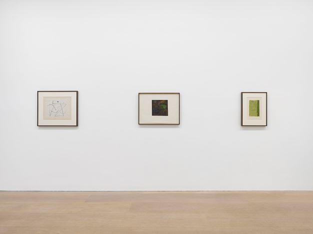 Exhibition view: Paul Klee, Late Klee, David Zwirner, London (6 March–31 July 2020). Courtesy David Zwirner. Photo: Jack Hems.