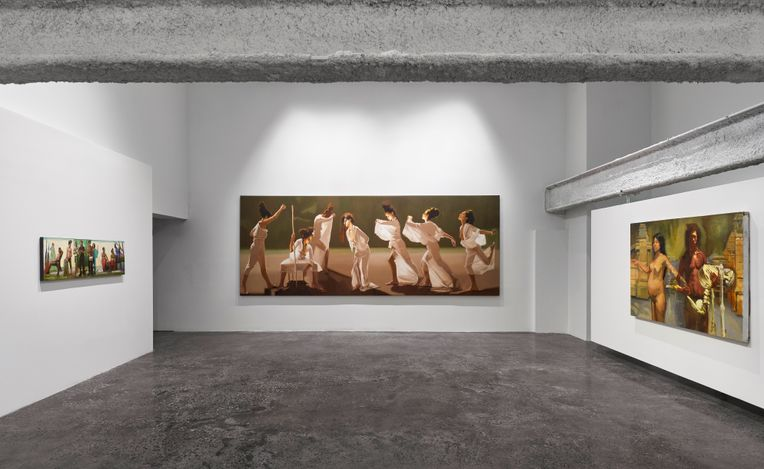 Exhibition view: Sylvia Maier, About Sangomas and Soothsayers and Mischief, Malin Gallery, New York (14 July–1 November 2020). Courtesy Malin Gallery.