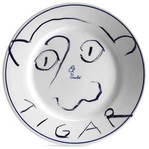Tigar by Andy Warhol contemporary artwork