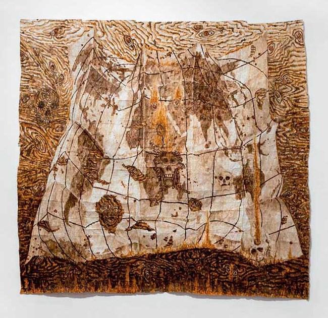 Take No Prisoners by Fiona Hall contemporary artwork