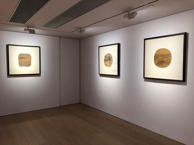 Exhibition view: Xu Jianguo, Poetic Landscapes, Alisan Fine Arts, Hong Kong Central (26 September–31 October 2018). Courtesy Alisan Fine Arts.