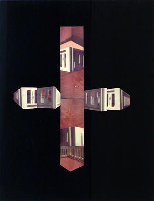 Porch Enigma #2 by Barry Gerson contemporary artwork