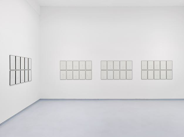 Exhibition view: Jack Goldstein, Selectric Work, Metro Pictures, New York (14 November–21 December 2019). Courtesy Metro Pictures, New York.