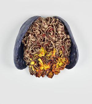 Wild Heart Closed by Johan Creten contemporary artwork