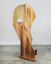 Midnight Lady by Thomas Houseago contemporary artwork sculpture