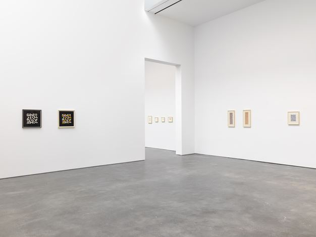 Exhibition view: Anni Albers, David Zwirner, 20th Street, New York (10 September–19 October 2019). Courtesy David Zwirner.