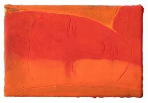 Le soleil noyant mon visage by Christine Safa contemporary artwork