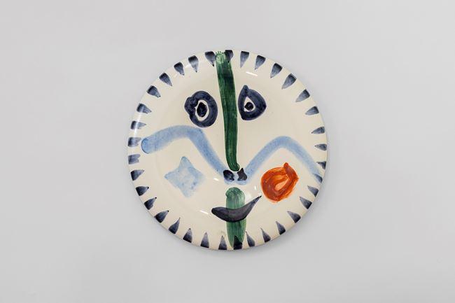 Face no. 111 (Visage no. 111) by Pablo Picasso contemporary artwork