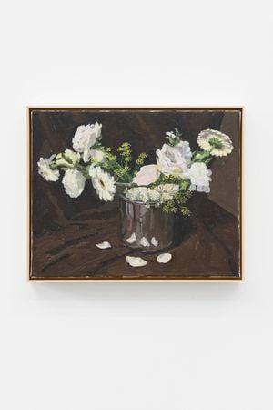 Fresh Flowers by Ge Yulu contemporary artwork painting, sculpture