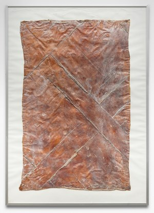 Untitled (Floor piece from the men's room) by Heidi Bucher contemporary artwork