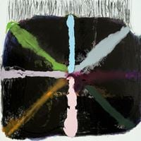 Woo Woo (Rugged) by Marie Le Lievre contemporary artwork painting, works on paper, drawing