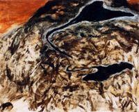 飄 by yen ding sheng contemporary artwork painting