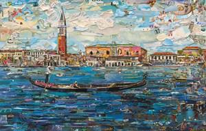 Venice, Postcards from Nowhere by Vik Muniz contemporary artwork