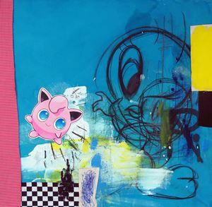 American Punk by George Morton-Clark contemporary artwork