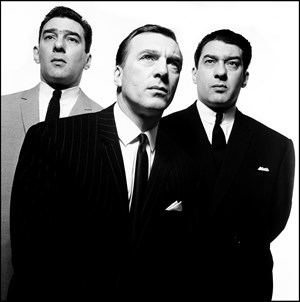 The Kray Brothers by David Bailey contemporary artwork