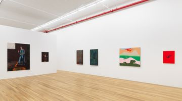 Contemporary art exhibition, Group Exhibition, Fifteen Painters at Andrew Kreps Gallery, 22 Cortlandt Alley, New York