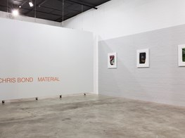 "Chris Bond<br><em>Material</em><br><span class=""oc-gallery"">THIS IS NO FANTASY dianne tanzer + nicola stein</span>"