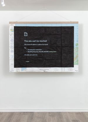 Not Found by Adriana Martínez Barón contemporary artwork painting, works on paper
