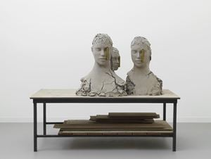 Working Table by Mark Manders contemporary artwork