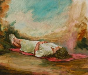 Be Glad for This Song Has No Ending by Christopher Orr contemporary artwork