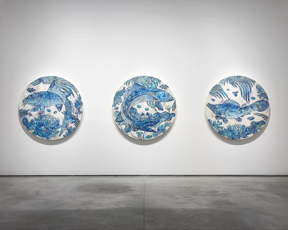 Exhibition view: Takashi Murakami, Baka, Perrotin, Paris (16 October–21 December 2019).© 2019 Takashi Murakami/Kaikai Kiki Co., Ltd. All Rights Reserved. Courtesy Perrotin.Photo: Claire Dorn.