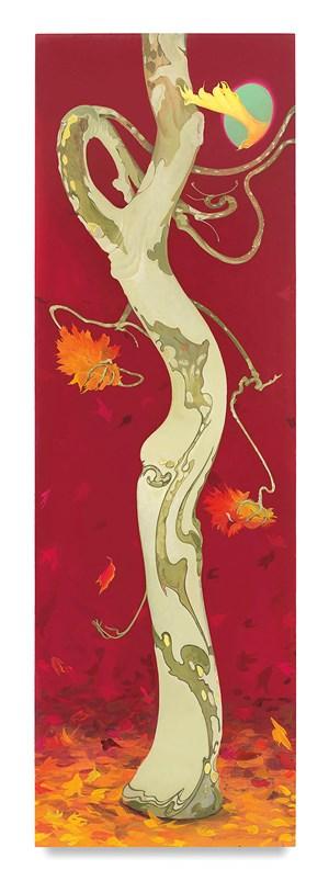 Arbor Ignudi Fall by Inka Essenhigh contemporary artwork