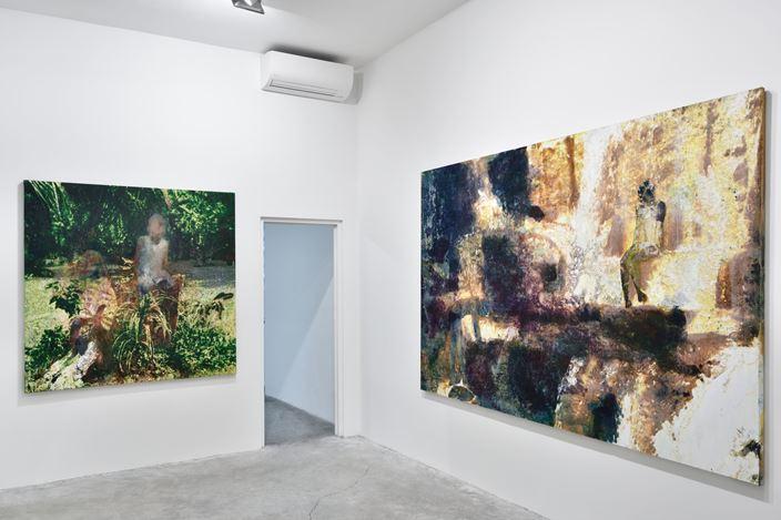 Exhibition view: Alexandre Lenoir, Almine Rech, Paris (7 March–30 May 2020).©Alexandre Lenoir. Courtesy the artist and Almine Rech. Photo: Rebecca Fanuele.