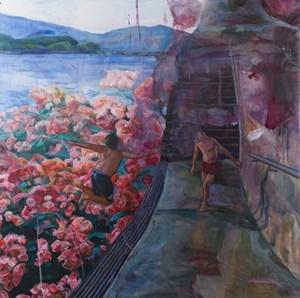 Flower sea by Vivian Ho contemporary artwork