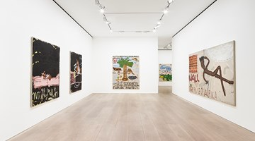 Contemporary art exhibition, Rose Wylie, Lolita's House at David Zwirner, London