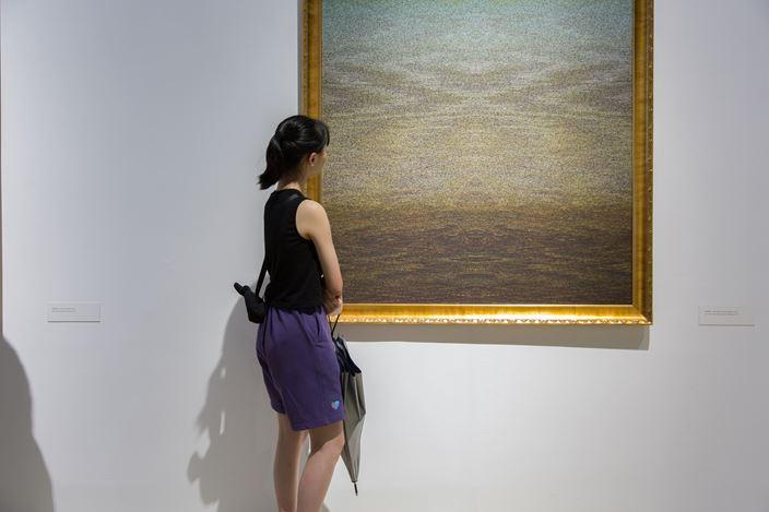 Exhibition view:Wang Changcun,The Sensation of Logic, OCAT Shenzhen, Shenzhen, (6 June–18 August 2019). CourtesyOCT Contemporary Art Terminal.