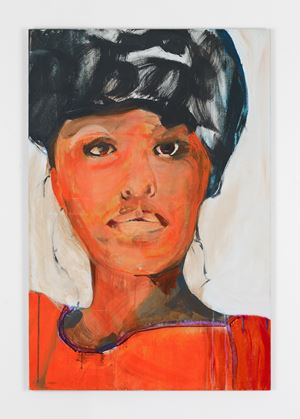 Phyllis Hyman by Brian Maguire contemporary artwork
