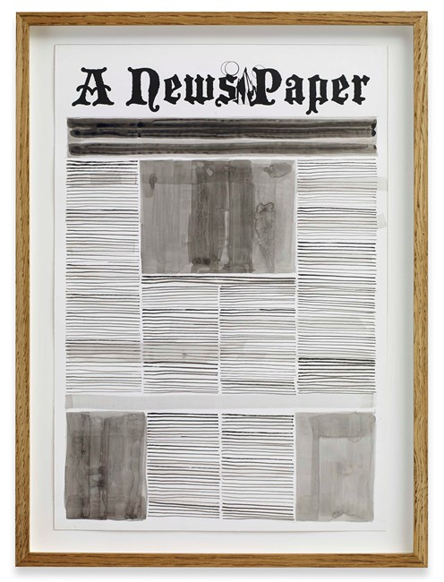 Front Page by Alexandre Singh contemporary artwork
