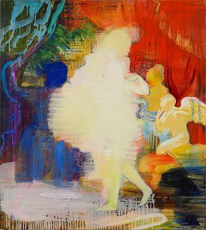 Venus yellow by Adrienne Gaha contemporary artwork