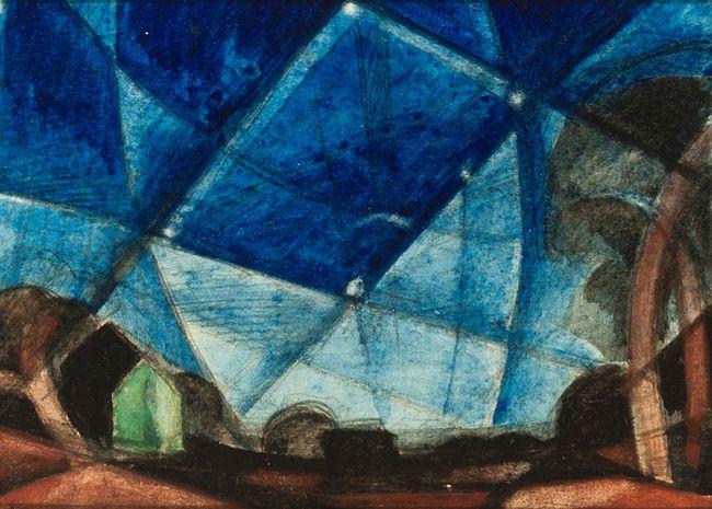 Orion by Oscar Bluemner contemporary artwork