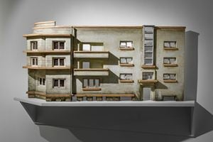 Modernist Facades for New Nations (Sculptural Proposition 1) by Sahil Naik contemporary artwork