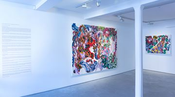 Contemporary art exhibition, Chen Ping, Garden at Informality, Henley on Thames, United Kingdom