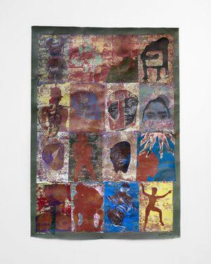 Thessalonian Green IV by Ronald Muchatuta contemporary artwork