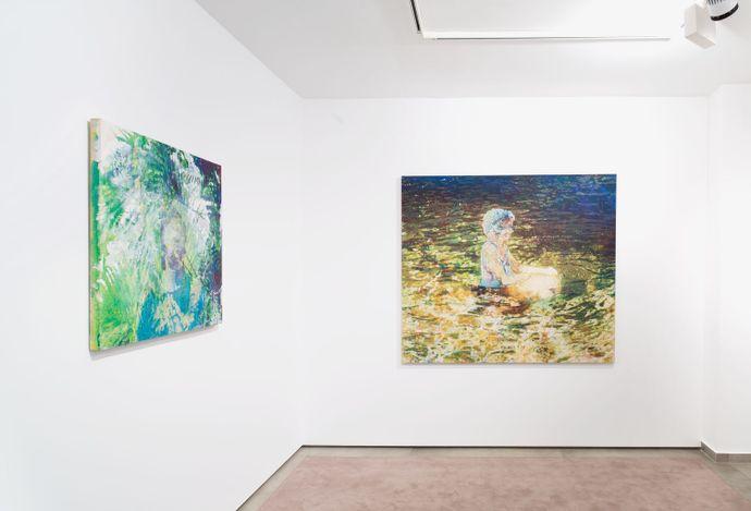 Exhibition view: Alexandre Lenoir, sous le niveau de la mer, Almine Rech, Avenue Matignon, Paris (14 April–29 May 2021). © Alexandre Lenoir. Courtesy the Artist and Almine Rech. Photo: Ana Drittanti.