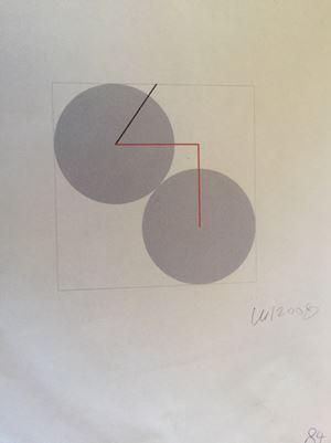 84 ans by Véra Molnar contemporary artwork