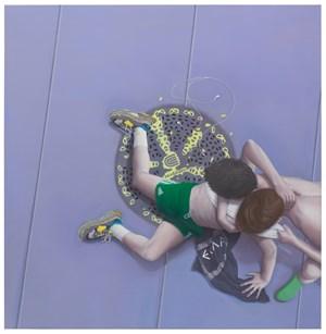 The Assault by Thomas Eggerer contemporary artwork