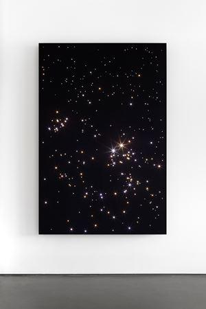 Night Sky: Chamaeleon Reticulum.6 by Angela Bulloch contemporary artwork sculpture