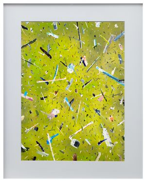 Green Energy by Gary-Ross Pastrana contemporary artwork painting, works on paper, photography, print