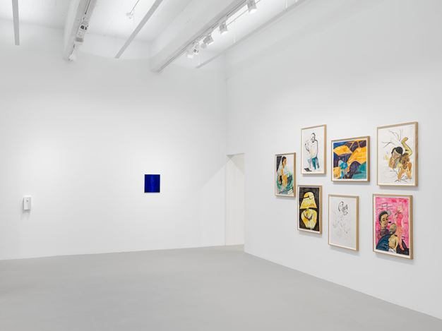 Exhibition view: Group Exhibition, Personal Private Public, Hauser & Wirth, 22nd Street, New York (10 September–26 October 2019).   Courtesy Hauser & Wirth. Photo: Thomas Barratt.
